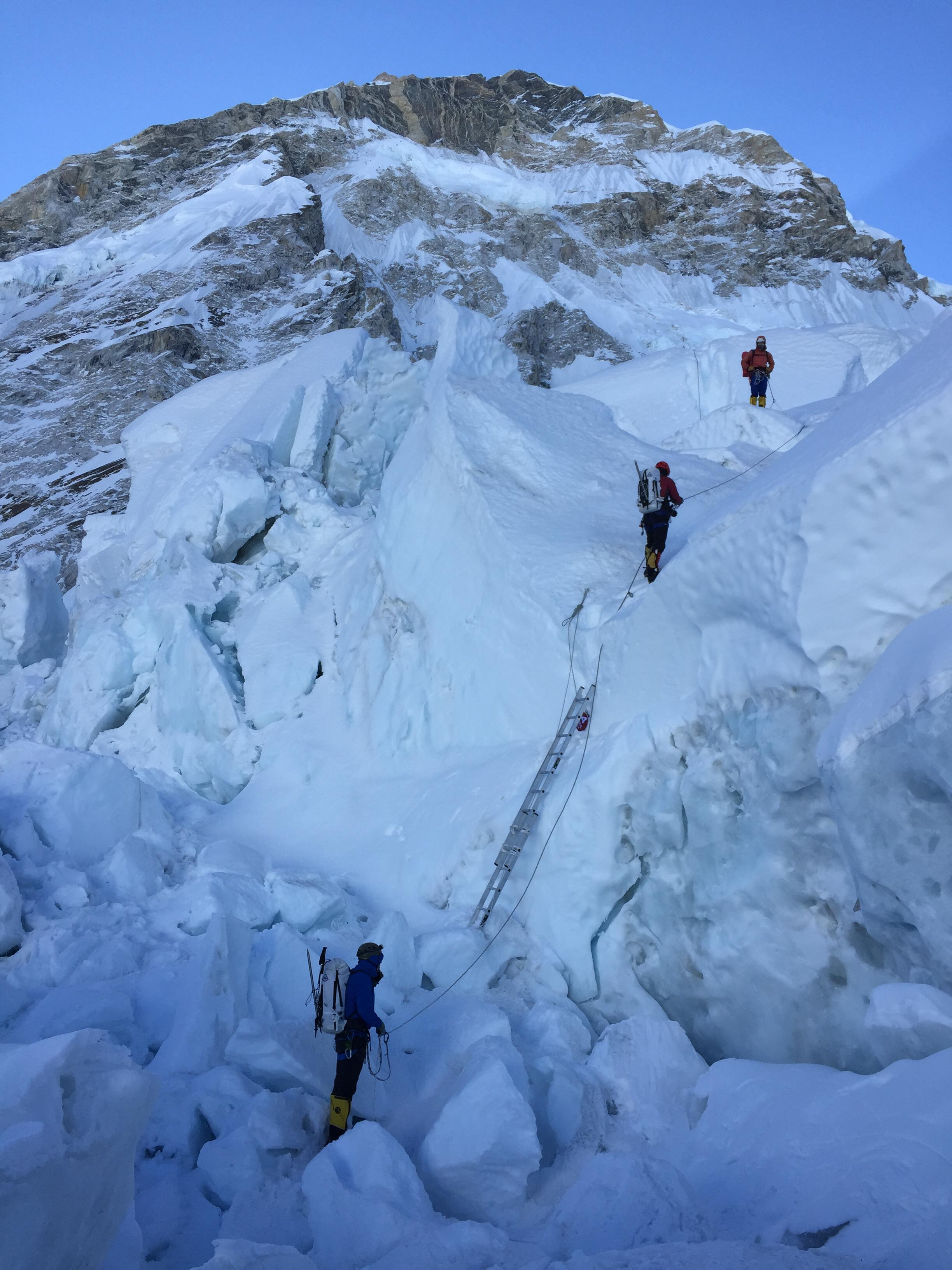 Mountain Everest Climbing